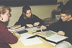 Students in a CPMP classroom